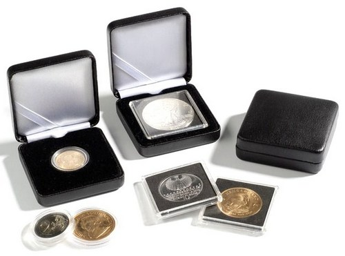 Presentation box to suit CAPS39 - CAPS40 encapsulated coins - Click Image to Close
