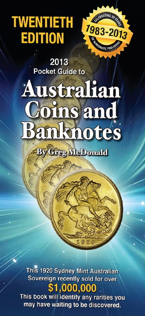 2013 Pocket Guide to Australian Coins and Banknotes